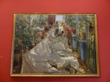 Musée des Impressionnistes - Sorolla Coudre le voile