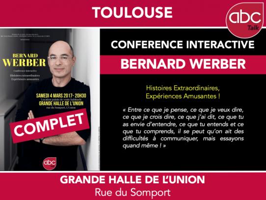 Bernard Werber à l'Union