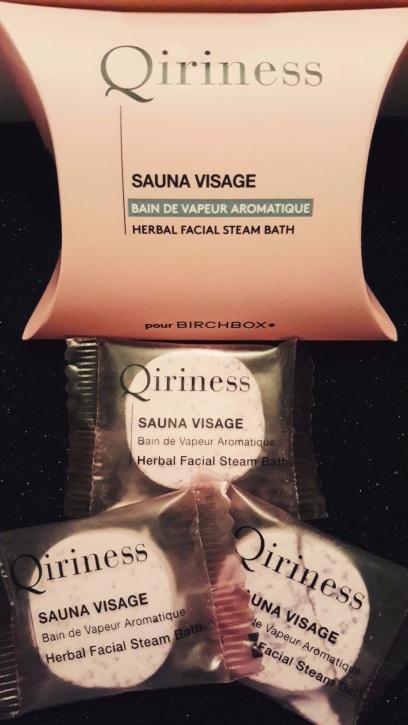 """Steam bath face """"Qiriness"""""""