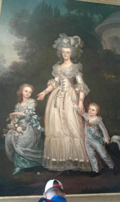 Tableau de Marie-Antoinette