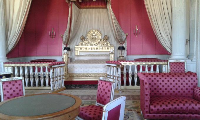 Chambre du château de Vera