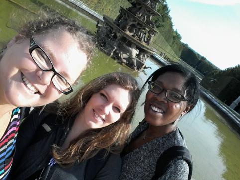 Sortie entre filles à Versailles