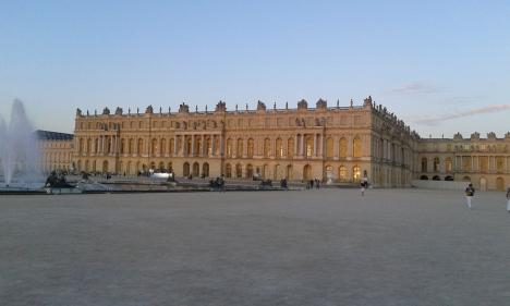 Façade jardin du palais de Versailles