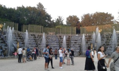 Fontaine de bal de Versailles