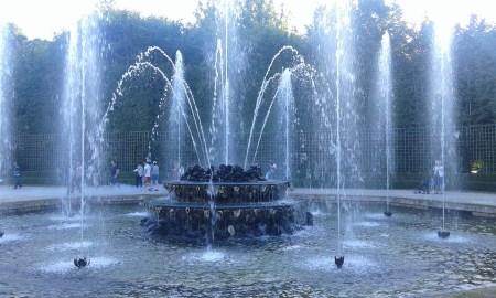 Fontaine ronde de Versailles