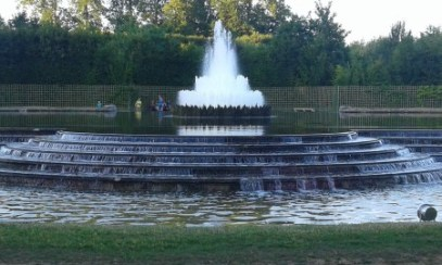 Fontaine en cascade de Versailles
