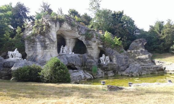 Grotte d'Apollon des jardins de Versailles