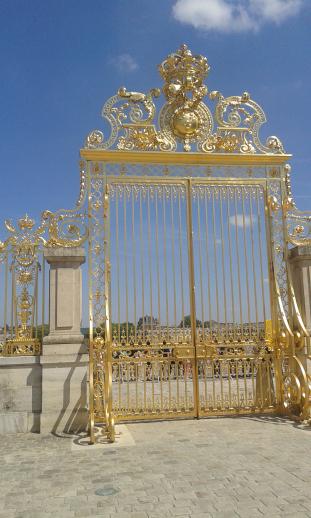 Portail d'or du roi soleil