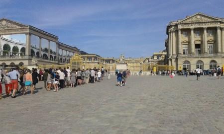 Portail du château de Versailles