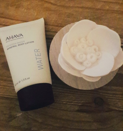 Body lotion from the brand AHAVA