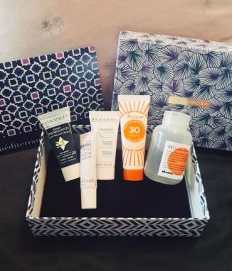 Birchbox products